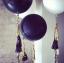 """ลูกโป่งกลมจัมโบ้ไซส์ใหญ่ 36"""" Latex Balloon RB ONYX BLACK 3FT สีดำ/ Item No. TQ-42857 แบรนด์ Qualatex thumbnail 9"""