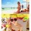 พร้อมส่ง ชุดว่ายน้ำบิกินี่ทูพีซ ลายแตงโมสีสันสดใสน่ารักมากจ้า thumbnail 8