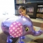 Purple Elephant Walking Balloons - ช้างน้อยบอลลูน สีม่วง / Item No. TL-K007 thumbnail 3