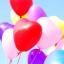 """ลูกโป่งหัวใจ สีมาตรฐาน คละสี ไซส์ 11 นิ้ว แพ็คละ 10 ใบ (Heart Latex Balloon - Mixed Standard Color 11"""") thumbnail 10"""