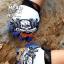 ถุงมือ MT07 - Blue Skull - Free size thumbnail 1