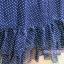 ชุดคลุมท้องสีน้ำเงินเข้ม ลายจุดคอลูกไม้ รหัส CK027 thumbnail 7