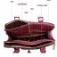 กระเป๋าหนัง pu เกรด A แบรนด์ OPPO สีชมพูอมม่วงลายลีโอ ทรงแอร์เมท(รับประกันของแท้ เหมือนแบบ 100%) thumbnail 4