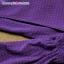 เสื้อคลุมท้องเปิดให้นมแขนยาว แบบกระโปรง ลายจุดเหลือง : สีม่วง รหัส MN038 thumbnail 16