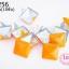 เป็กติดเสื้อ ทรงสี่เหลี่ยม สีส้ม 12 มิล(10ชิ้น) thumbnail 1