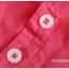 เสื้อเชิ้ตคลุมท้องคอปก สีแดงอ่อน ปักลายตัว R : SIZE XL รหัส SH145 thumbnail 6