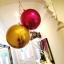 """ลูกโป่งฟอลย์ ทรงกลมลูกบอลสีทอง ไซส์ 22"""" ORBZ GOLD / Item No.TQ-A2820599 แบรนด์ Qualatex thumbnail 9"""