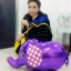 Purple Elephant Walking Balloons - ช้างน้อยบอลลูน สีม่วง / Item No. TL-K007 thumbnail 2