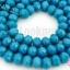 คริสตัลจีน ทรงซาลาเปา สีฟ้าเข้มขุ่น 6มิล(1เส้น) thumbnail 1