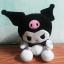 ตุ๊กตาอัดเสียง คุโรมิ ( Kuromi ) สินค้ามาใหม่ (ซื้อ 3 ชิ้น ราคาส่ง 300 บาท) thumbnail 2