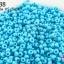 ลูกปัดจีน กลม สีฟ้าด้าน 2มิล #S (5กรัม) thumbnail 1