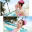 พร้อมส่ง ชุดว่ายน้ำ Bikini ผูกข้าง สายคล้องคอ สุดเซ็กซี่ thumbnail 13