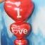 ลูกโป่งฟลอย์รูปหัวใจ สีแดง I LOVE YOU ต่อกัน-Love Series Heart Shape Foil Balloon / Item No.TL-E050 thumbnail 3