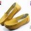 รองเท้าแฟชั่นหุ้มส้น CSB ซีเอสบี รุ่น LK92-532 สีเหลือง เบอร์ 36-40 thumbnail 1