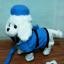 ตุ๊กตาหมาเดินได้ ส่ายก้นได้ มีเสียงเพลง (มาใหม่ล่าสุด) สีขาวใส่หมวก thumbnail 2