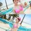 พร้อมส่ง ชุดว่ายน้ำ Bikini ผูกข้าง สายคล้องคอ สุดเซ็กซี่ thumbnail 11
