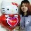 ลูกโป่งฟลอย์ Hello Kitty หัวใจ I Love You สีแดง - Hello Kitty I Love You heart Foil Balloon / Item No. TL-E022 thumbnail 8