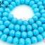 คริสตัลจีน ทรงซาลาเปา สีฟ้าขุ่น 6มิล(1เส้น) thumbnail 1