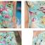 พร้อมส่ง ชุดว่ายน้ำคู่รัก ชุดว่ายน้ำบิกินี่ทูพีซ ลายสัตว์ทะเล พร้อมชุดแซกคลุมผ้าซีทรูสวย thumbnail 9