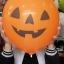 """ลูกโป่งกลมพิมพ์ลาย ชุด Halloween ไซส์ 12 นิ้ว คละแบบ แพ็คละ 4 ใบ (Round Balloons 12"""" - Halloween Printing latex balloons) thumbnail 4"""