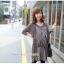 ชุดคลุมท้องผ้าชีฟองแขนยาว เสื้อด้านในลายยาวติดกับชุดนอก : สีน้ำตาล รหัส CK207 thumbnail 25