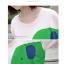 เสื้อคลุมท้องแขนสั้น ลายช้างน่ารัก Elephant : สีขาว รหัส SH040 thumbnail 4