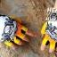 ถุงมือ MT08 - Yellow Skull - Free size thumbnail 3