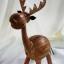 ออมสินกะลามะพร้าวรูปกวาง Coconut Shell Deer Saving thumbnail 1