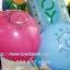 """ลูกโป่งกลมพิมพ์ลาย Baby Boy / Baby Girl ไซส์ 12 นิ้ว 4 ใบ มีสีฟ้าและชมพู กรุณาระบุสีที่ต้องการเมื่อสั่งซื้อ (Round Balloons 12"""" - Baby Boy Baby Girl Printing latex balloons) Item No. TL-C007/C008 thumbnail 2"""