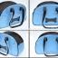 กระเป๋าสะพายน้องหมาลายกระดูกสีฟ้าเข้มไซด์ M thumbnail 2