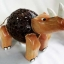 โคมไฟกะลามะพร้าวรูปแรด Coconut Shell Lamp Rhinoceros thumbnail 2