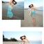พร้อมส่ง ชุดว่ายน้ำบิกินี่ทูพีช สายคล้องคอ กางเกงดีไซน์ขอบเข็มขัดลายสวย พร้อมชุดแซก thumbnail 8