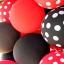 """ลูกโป่งกลมเนื้อสแตนดาร์ท สีดำ ไซส์ 12 นิ้ว แพ็คละ 10 ใบ (Round Balloon - Standard Black Color 12"""") thumbnail 6"""