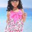 พร้อมส่ง ชุดว่ายน้ำเด็กหญิง tankini เสื้อยาว ลายเชอรี่หวานน่ารัก แต่งโบว์ใหญ่ที่อก กางเกงขาสั้น thumbnail 9