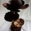 โคมไฟกะลามะพร้าวต้นดอกบัว Lotus Coconut Shell Lamp thumbnail 3