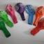 """ลูกโป่งกลมพิมพ์ลาย Happy Birth Day คละสี แบบที่ 1 ไซส์ 12 นิ้ว จำนวน 10 ใบ (Round Balloons 12"""" - Happy Birth Day Design no. 1 latex balloons) thumbnail 6"""