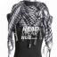 ผ้าพันคอชีมัคลายตาราง : สีขาวดำ thumbnail 4