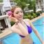 พร้อมส่ง ชุดว่ายน้ำ Bikini ผูกข้าง สายคล้องคอ สุดเซ็กซี่ thumbnail 5