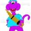 มาสคอทตุ๊กตา (สวมใส่คน) ไดโนเสาร์ค้ำคูณ 2552 thumbnail 2