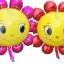 ลูกโป่งฟลอย์ ดอกไม้ตาโต ไซส์ใหญ่ มีสีชมพูและสีแดง กรุณาระบุ- Sunflower Big Eyes Jumbo size Foil Balloon/ Item No.TL-A095 thumbnail 1