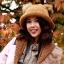 หมวกไหมพรมแฟชั่นเกาหลีพร้อมส่ง ทรงดีไซต์เก๋ หมวกสีน้ำตาล แต่งขนด้านบน thumbnail 1