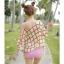 PRE ชุดว่ายน้ำบิกินี่ บรามีโครง สายคล้องคอ กางเกงบิกินี่ พร้อมเสื้อคลุมลายสวยเก๋ thumbnail 6