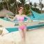 พร้อมส่ง ชุดว่ายน้ำ Bikini ผูกข้าง สายคล้องคอ สุดเซ็กซี่ thumbnail 19