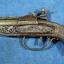 ปืนโบราณย่อส่วน แบบไฟแช็คตั้งโต๊ะ S-71 ราคา โรงเกลือ คลองถม บ้านหม้อ thumbnail 8