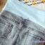 กางเกงยีนส์เดฟคลุมท้อง ขาสั้น : SIZE XXL รหัส PN056 thumbnail 4