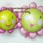 ลูกโป่งฟลอย์ Pink Flower หน้ายิ้ม ไซส์เล็ก - Pink Flower Small size Foil Balloon / Item No. TL-A074 thumbnail 3
