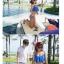 พร้อมส่ง ชุดว่ายน้ำคู่รัก ชุดว่ายน้ำบิกินี่ทูพีซ บราแต่งระบายสวย สายคล้องคอ กางเกงบิกินี่ผูกข้างสวยเก๋ thumbnail 9