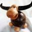 ออมสินกะลามะพร้าวรูปควาย Coconut Shell Buffalo Savings thumbnail 2
