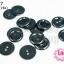 กระดุมพลาสติก สีดำ 22มิล (1ขีด/100กรัม) thumbnail 1
