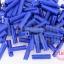 ลูกปัดจีนปล้องยาว สีน้ำเงิน 3X13มิล(5กรัม) thumbnail 1